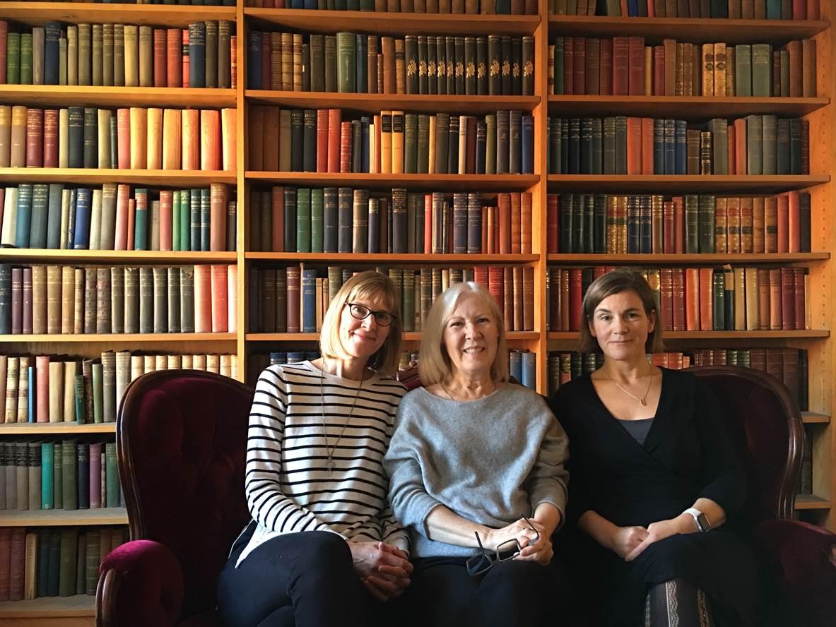 All three manuscript authors in Skytteanum.