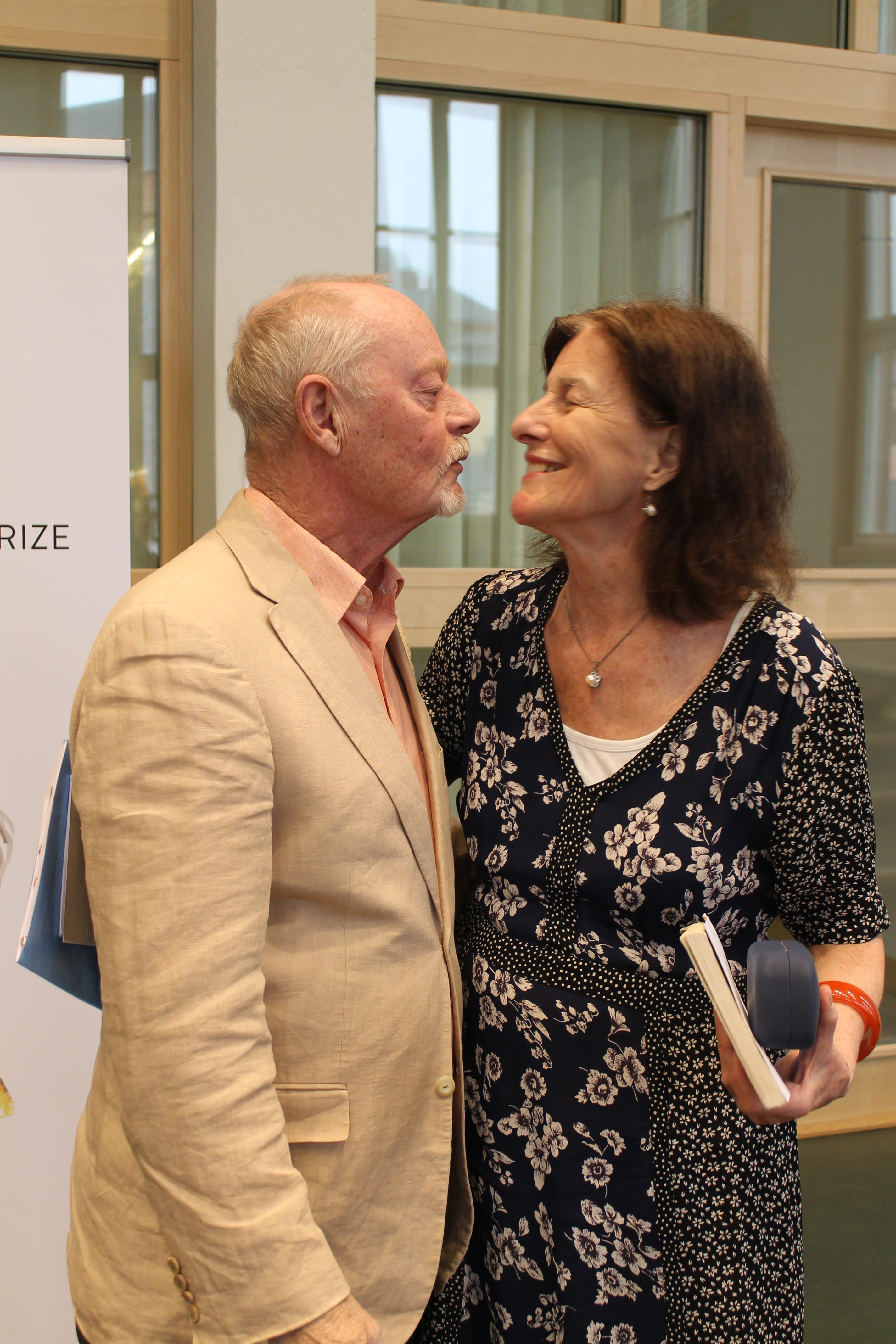 In her lecture, Barbro Lewin said that her favourite from among the 20 Skytte professors she wrote about is her husband and Skytte professor emeritus, Leif Lewin.