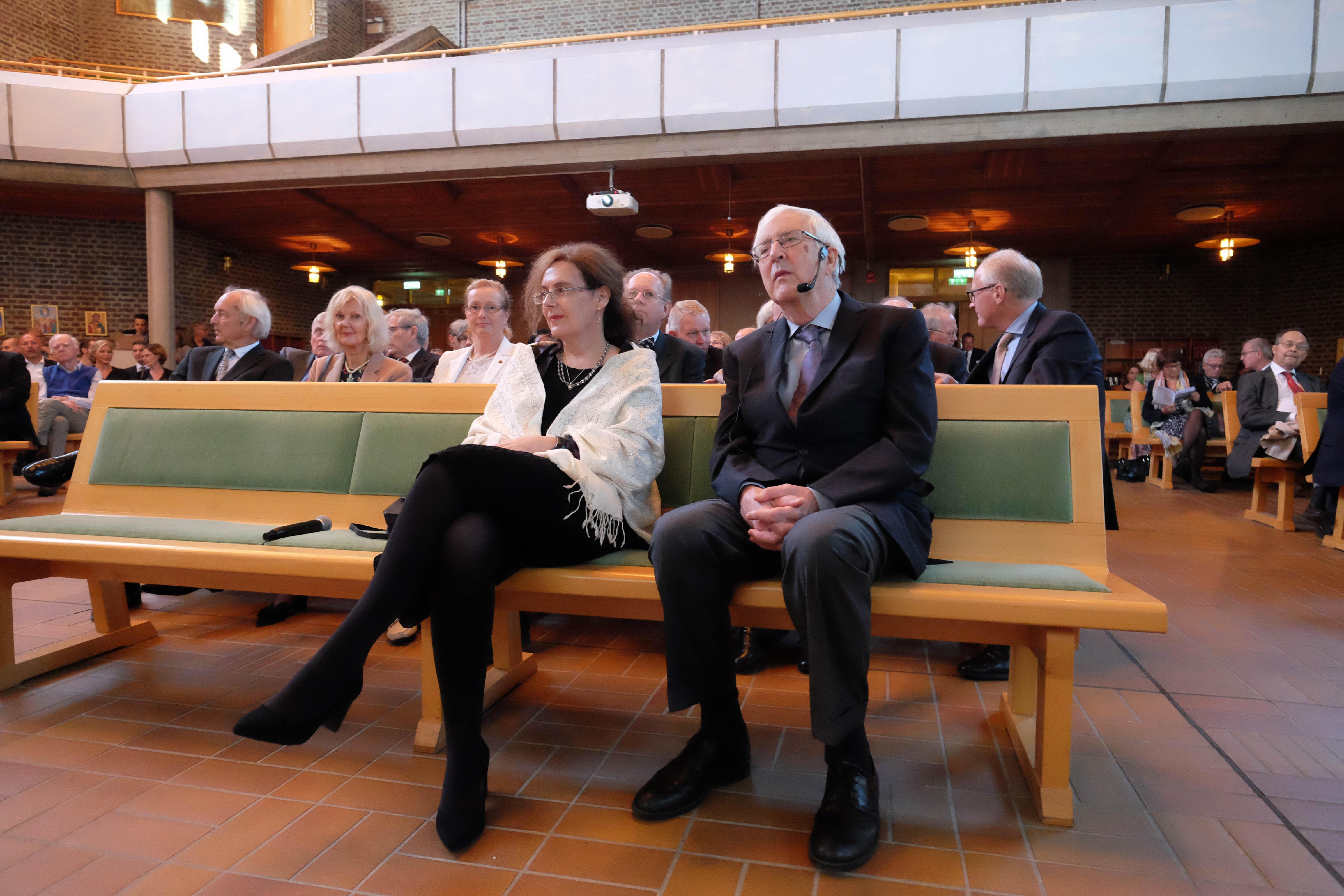 Prize Winner Jon Elster at Missionskyrkan
